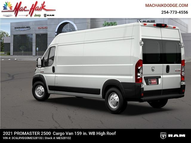 2021 Ram ProMaster 2500 High Roof FWD, Empty Cargo Van #ME528102 - photo 1