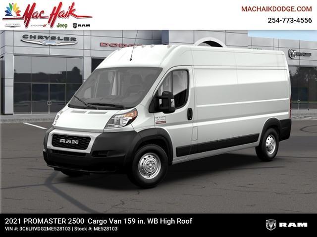 2021 Ram ProMaster 2500 High Roof FWD, Empty Cargo Van #ME528103 - photo 1