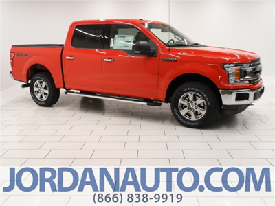 2018 F-150 Crew Cab 4x4 Pickup #JFB43036 - photo 1