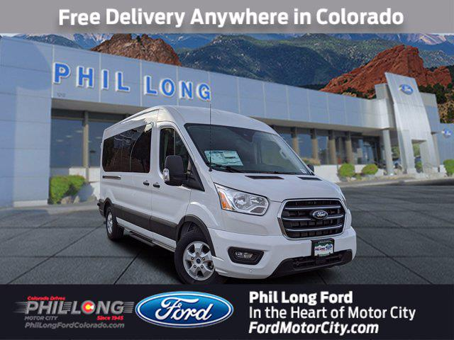 2020 Ford Transit 350 Med Roof 4x2, Passenger Wagon #450015 - photo 1