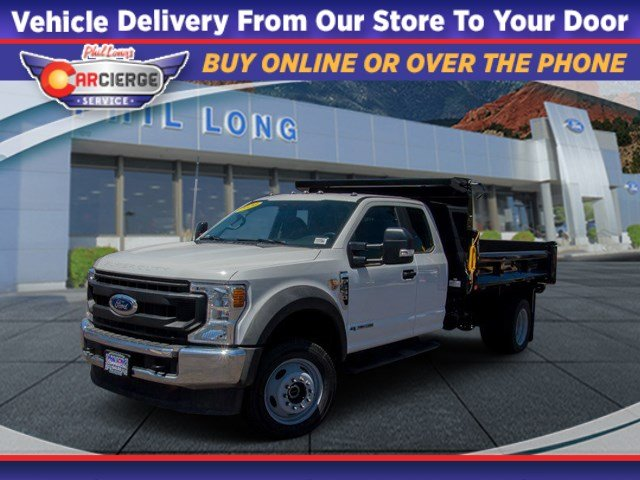 2020 Ford F-550 Super Cab DRW 4x4, Rugby Dump Body #660003 - photo 1