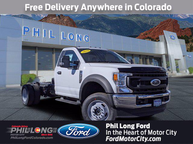 2020 Ford F-600 Regular Cab DRW 4x4, Cab Chassis #660015 - photo 1