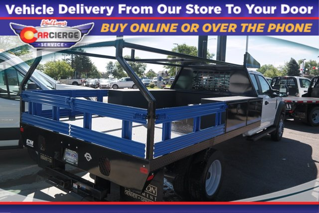 2019 Ford F-450 Super Cab DRW 4x4, CM Truck Beds Contractor Body #DT9599 - photo 1