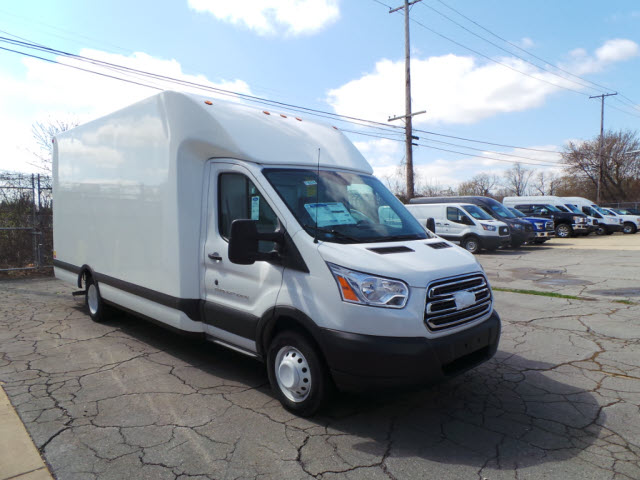 2017 Transit 350 HD Low Roof DRW, Unicell Cutaway Van #T10376 - photo 4