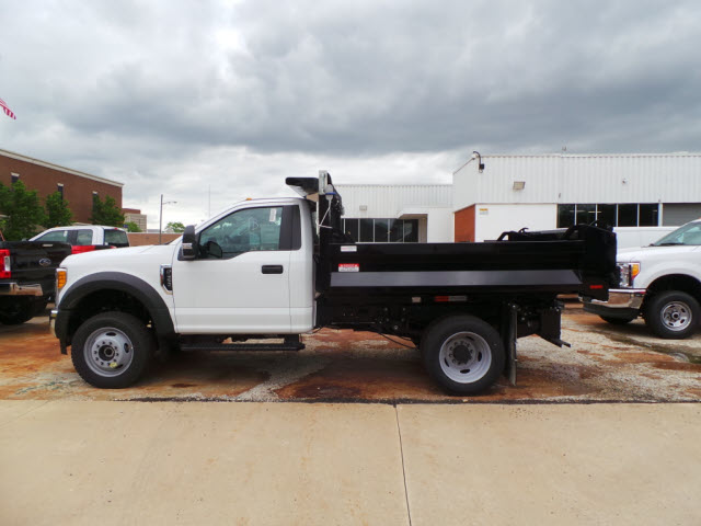 2017 F-450 Regular Cab DRW 4x4, Knapheide Dump Body #T10750 - photo 3