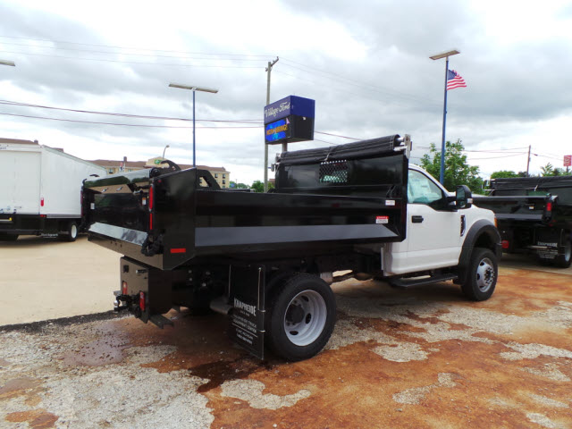 2017 F-450 Regular Cab DRW 4x4, Knapheide Dump Body #T10750 - photo 2