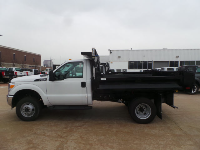 2016 F-350 Regular Cab DRW 4x4, Knapheide Dump Body #T1250 - photo 3