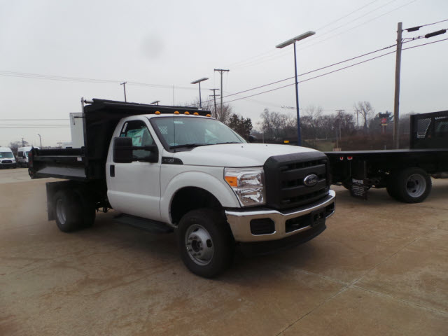 2016 F-350 Regular Cab DRW 4x4, Knapheide Dump Body #T1250 - photo 8