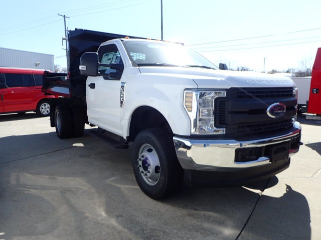 2018 F-350 Regular Cab DRW 4x4, Dump Body #T13750 - photo 3