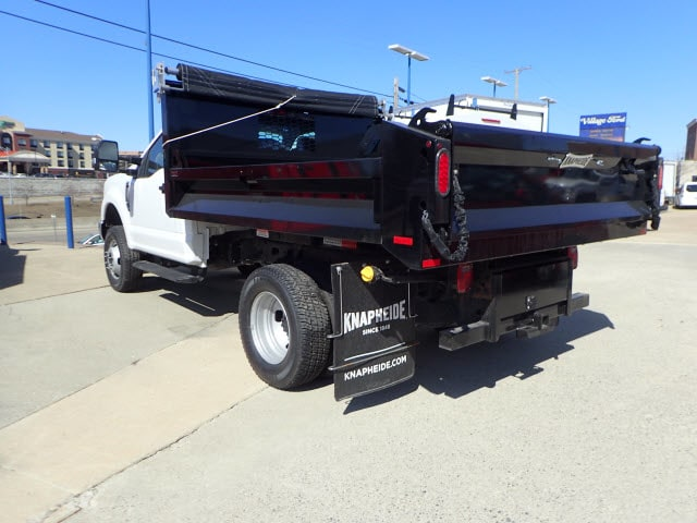2018 F-350 Regular Cab DRW 4x4, Dump Body #T13750 - photo 2