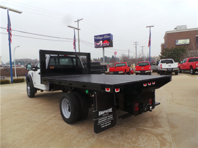 2017 F-450 Regular Cab DRW, Knapheide Heavy-Hauler Junior Platform Body #T9626 - photo 2