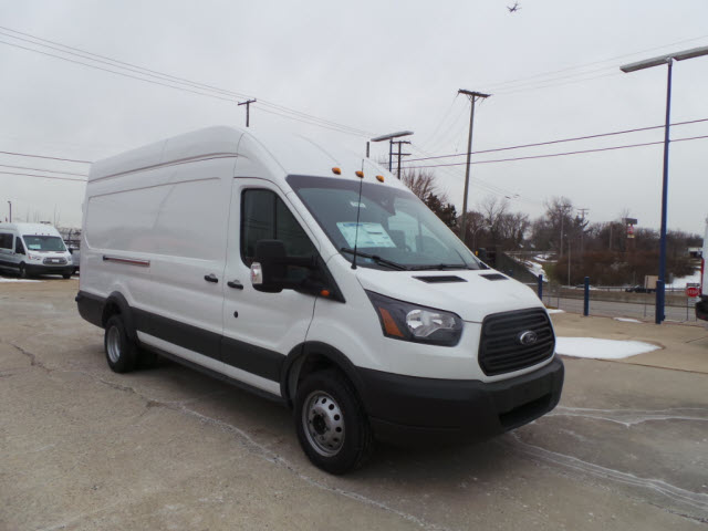 2017 Transit 350 HD High Roof DRW, Cargo Van #T9878 - photo 5