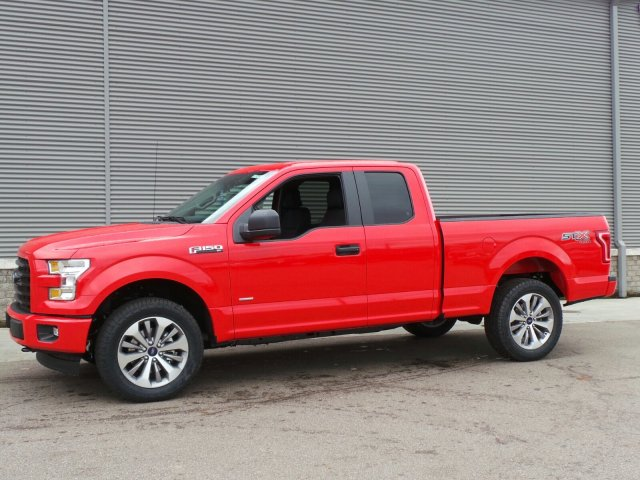 2017 F-150 Super Cab 4x4 Pickup #F3266 - photo 1