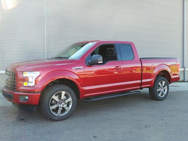 2017 F-150 Super Cab 4x4 Pickup #F3275 - photo 1