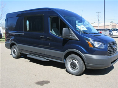 2018 Transit 250 Med Roof,  Empty Cargo Van #F3865 - photo 4