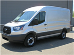 2018 Transit 250 Med Roof 4x2,  Empty Cargo Van #F4009 - photo 1