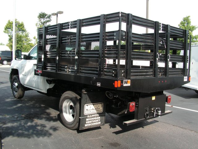 2017 Silverado 3500 Regular Cab DRW 4x2,  Knapheide Stake Bed #HF188010 - photo 2