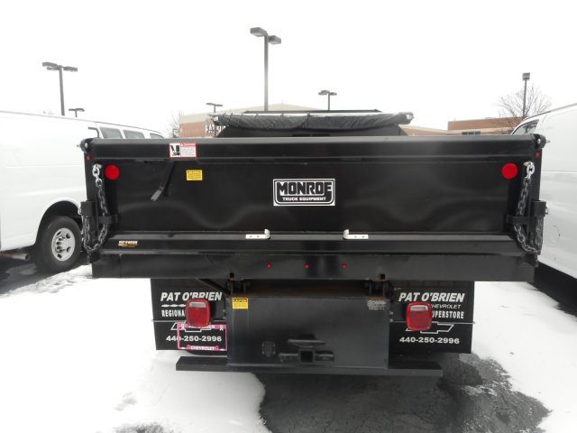 2017 Silverado 3500 Regular Cab DRW 4x2,  Monroe Dump Body #HF245597 - photo 3