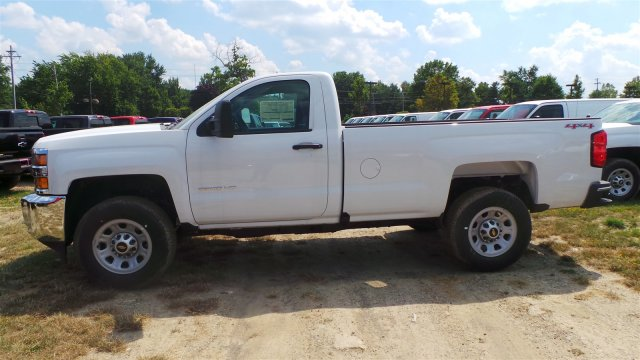 2017 Silverado 3500 Regular Cab 4x4, Pickup #HZ212319 - photo 3