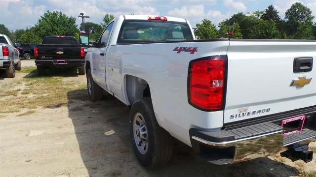 2017 Silverado 3500 Regular Cab 4x4, Pickup #HZ212319 - photo 2