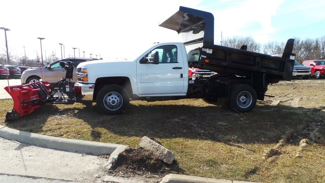 2018 Silverado 3500 Regular Cab DRW 4x4, Rugby Z-Spec Dump Body #JZ168661 - photo 2