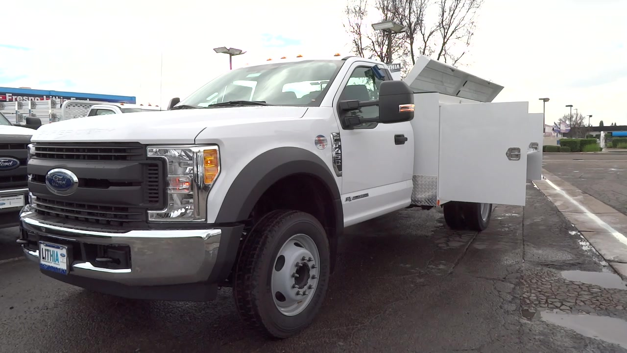 2017 F-450 Regular Cab DRW, Scelzi Service Body #HDA00722 - photo 3
