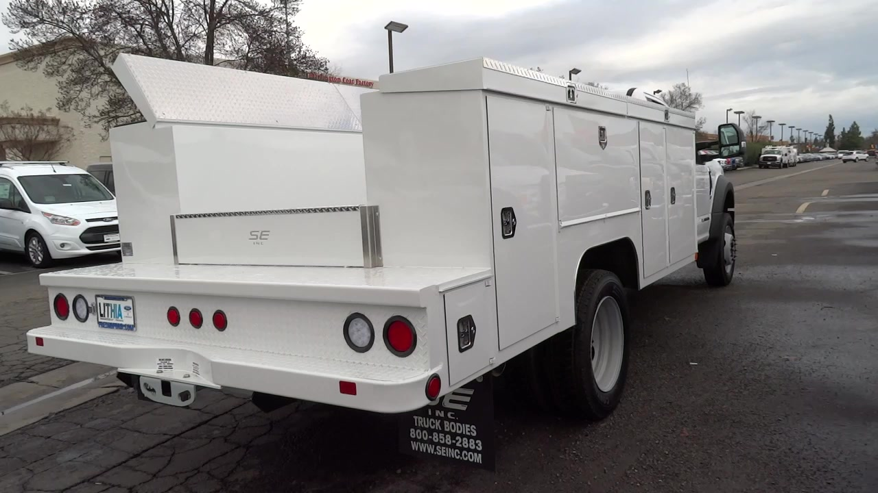 2017 F-450 Regular Cab DRW, Scelzi Service Body #HDA00722 - photo 2