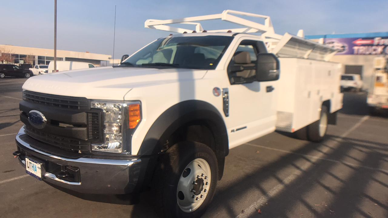 2017 F-450 Regular Cab DRW, Scelzi Signature Service Service Body #HDA08323 - photo 13