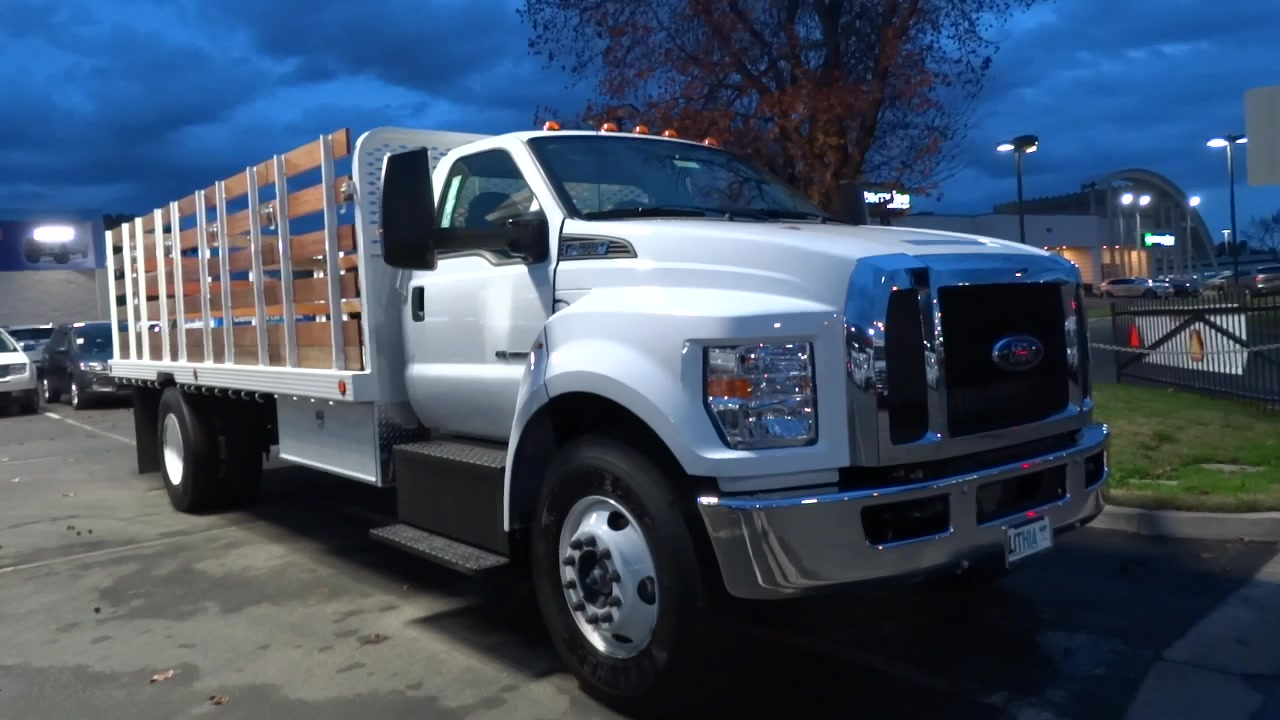 2017 F-650 Regular Cab, Scelzi Platform Body #HDB03133 - photo 3