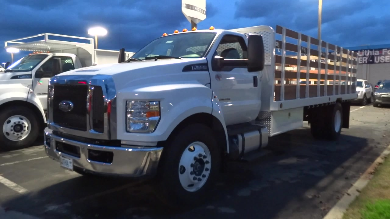 2017 F-650 Regular Cab, Scelzi Platform Body #HDB03133 - photo 6