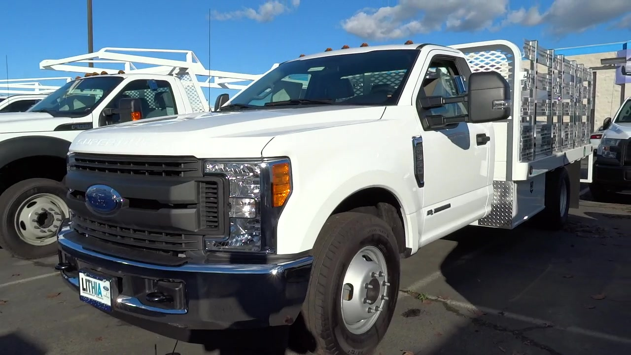 2017 F-350 Regular Cab DRW, Scelzi Platform Body #HEB54595 - photo 3