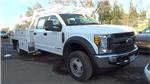 2017 F-450 Crew Cab DRW, Scelzi Contractor Body #HEB95554 - photo 1