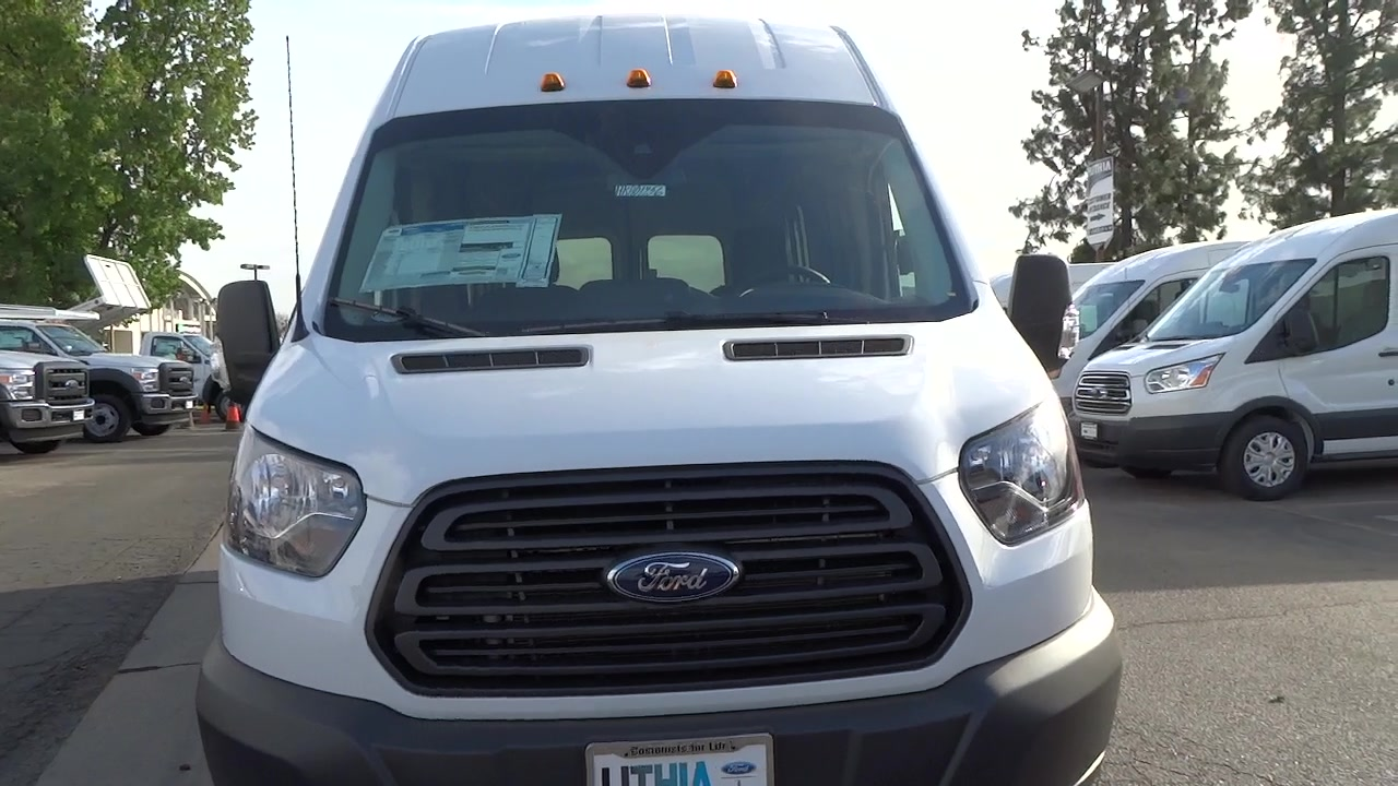 2017 Transit 350 HD High Roof DRW, Cargo Van #HKA01456 - photo 10