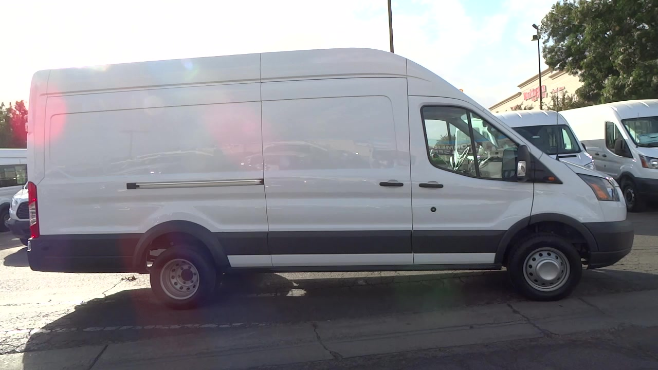 2017 Transit 350 HD High Roof DRW, Cargo Van #HKA01456 - photo 3