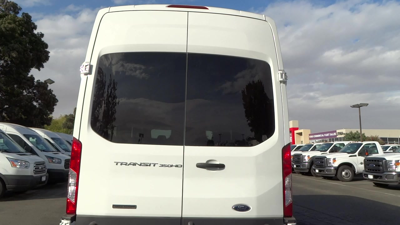 2017 Transit 350 HD High Roof DRW, Cargo Van #HKA01456 - photo 4