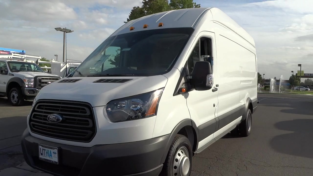 2017 Transit 350 HD High Roof DRW, Cargo Van #HKA01456 - photo 9