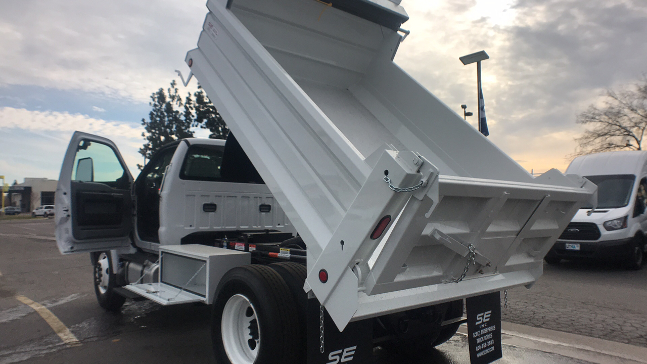 2018 F-650 Regular Cab DRW 4x2,  Scelzi Dump Body #JDF02111 - photo 5
