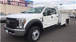 2018 F-550 Crew Cab DRW, Scelzi Contractor Body #JEB54385 - photo 1