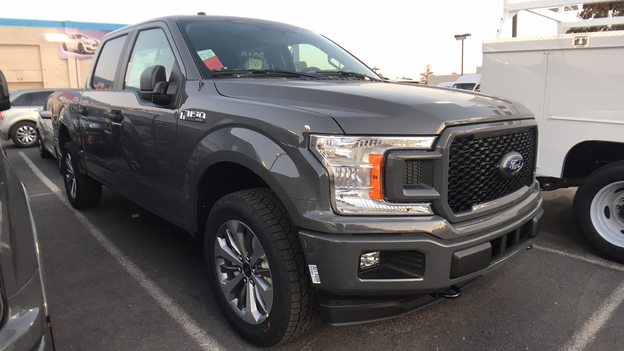 2018 F-150 Crew Cab 4x4 Pickup #JFB29437 - photo 1