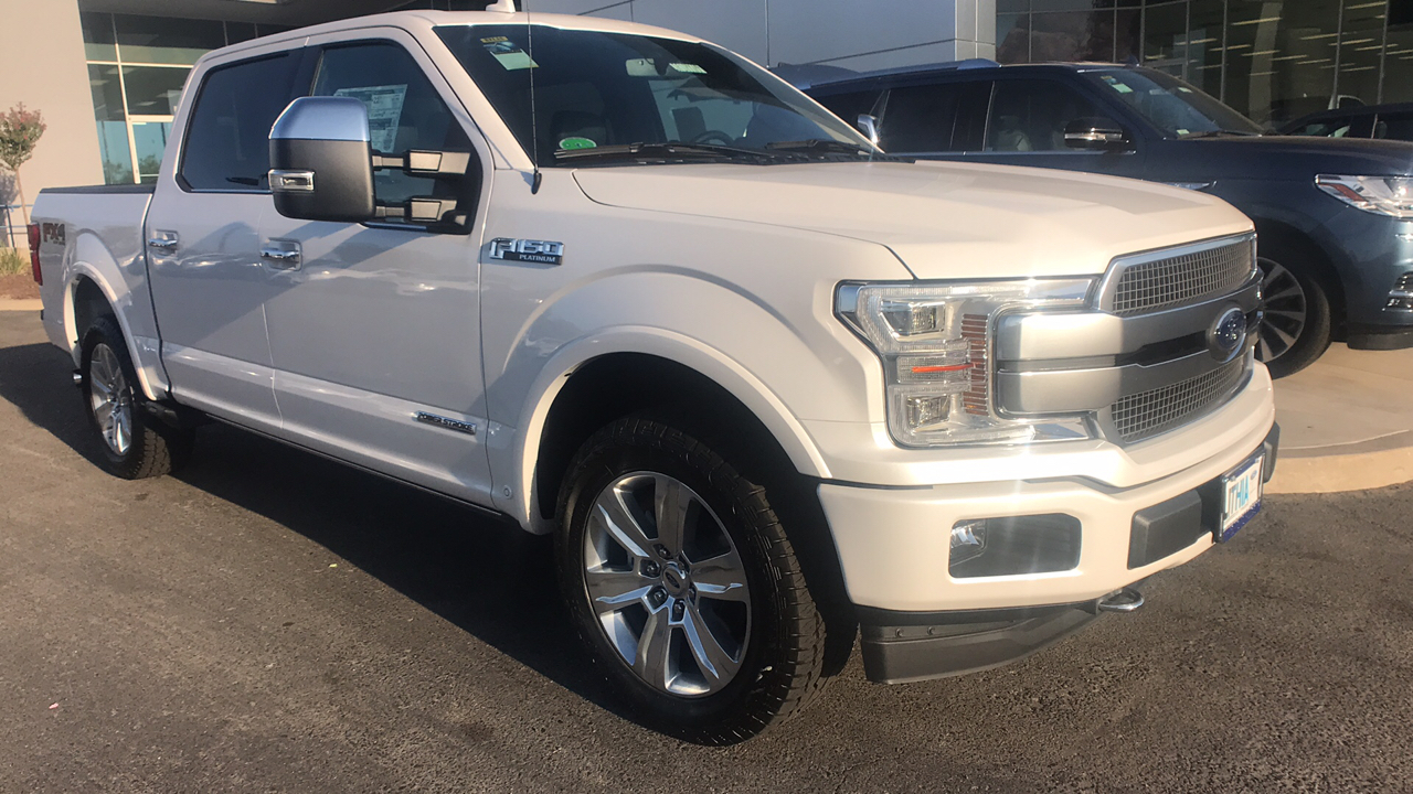 New 2018 ford f 150 supercrew cab pickup for sale in fresno ca