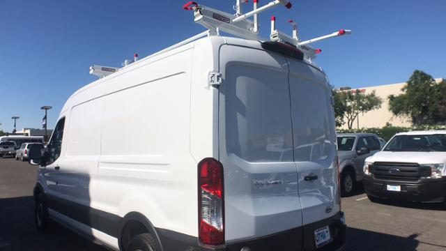2018 Transit 250 Med Roof 4x2,  Weather Guard Upfitted Cargo Van #JKA71731 - photo 18