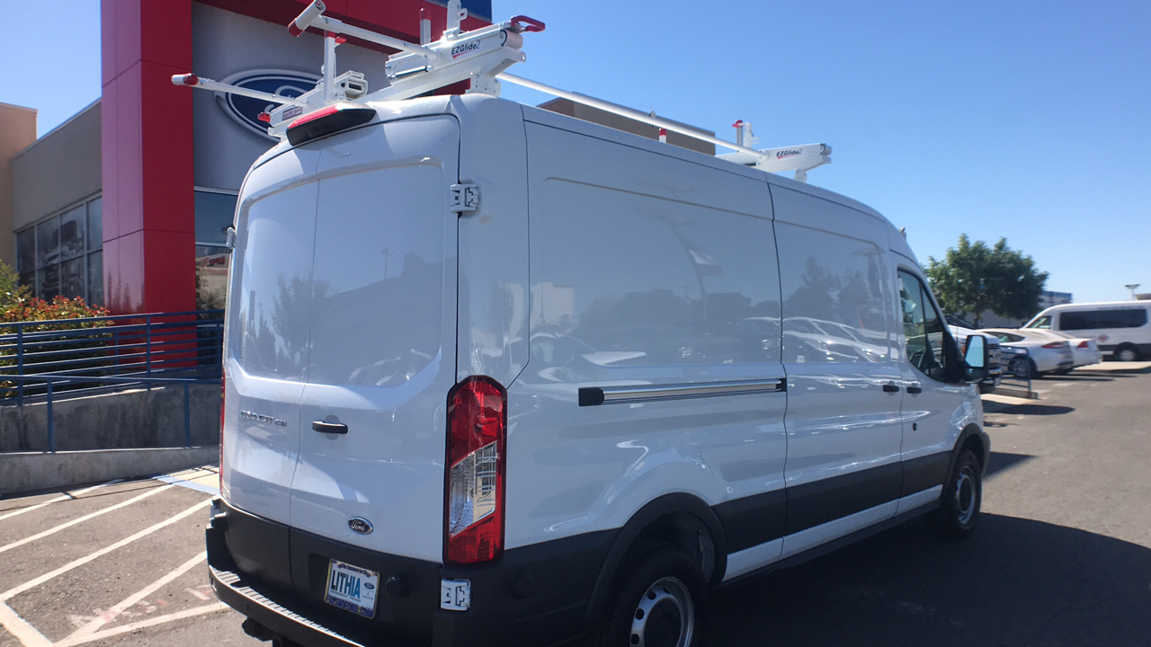 2018 Transit 250 Med Roof 4x2,  Weather Guard Upfitted Cargo Van #JKA71731 - photo 13