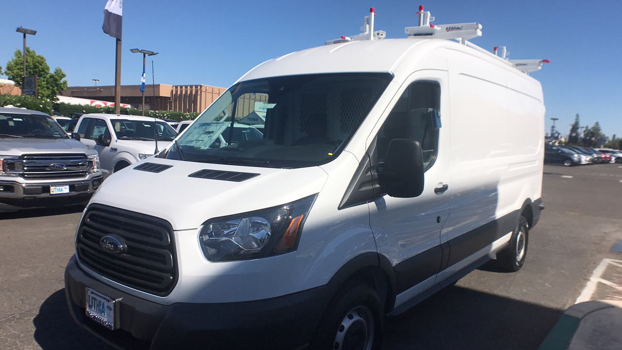 2018 Transit 250 Med Roof 4x2,  Weather Guard Upfitted Cargo Van #JKA71731 - photo 21