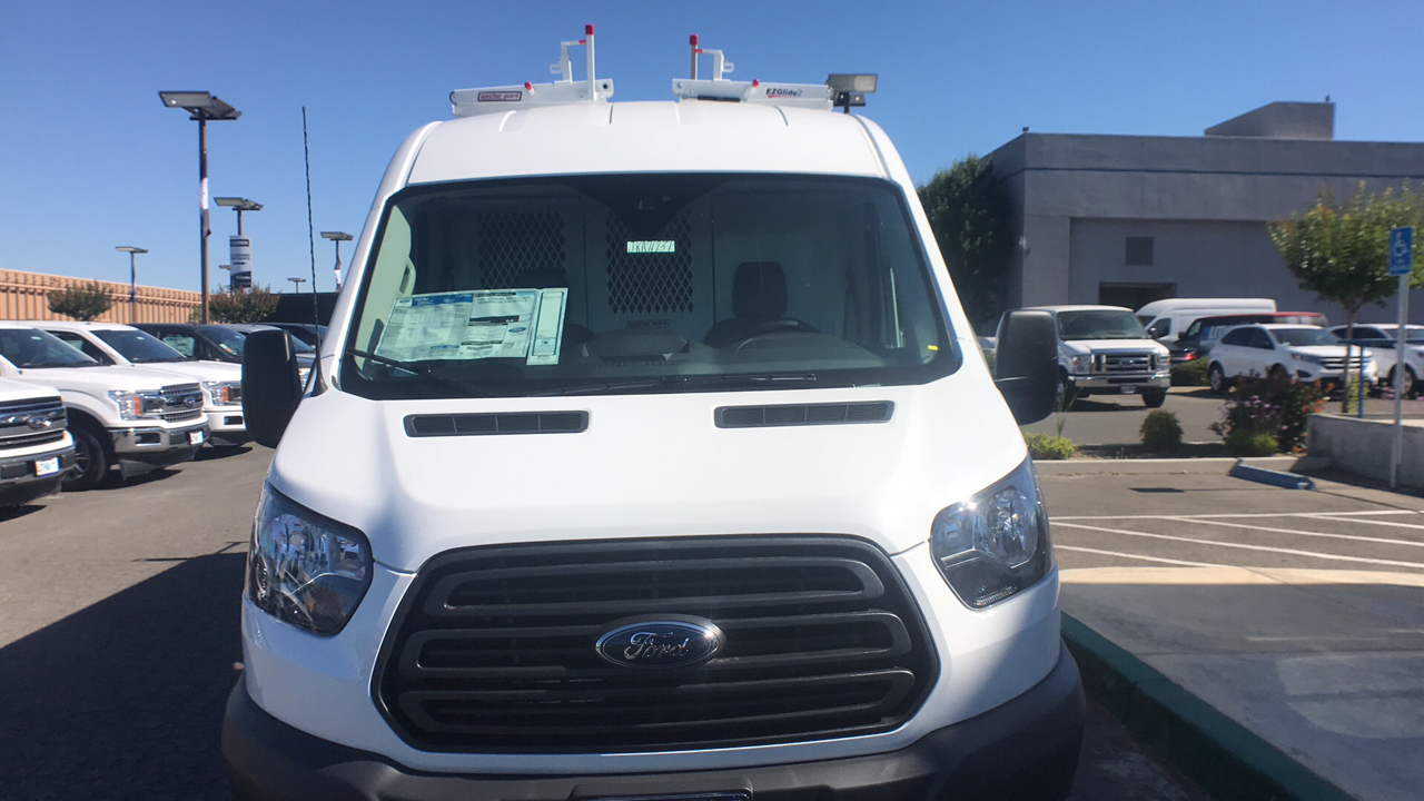 2018 Transit 250 Med Roof 4x2,  Weather Guard Upfitted Cargo Van #JKA71731 - photo 22