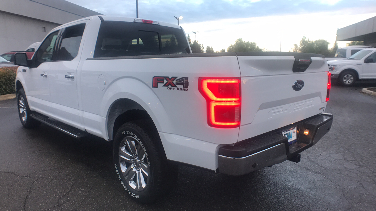 2018 F-150 Crew Cab 4x4 Pickup #JKC26526 - photo 2