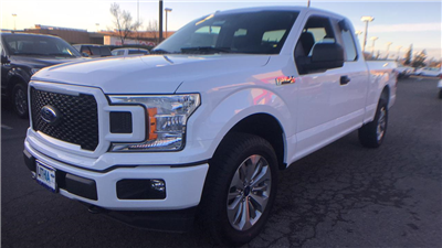 2018 F-150 Super Cab 4x4, Pickup #JKD57835 - photo 1