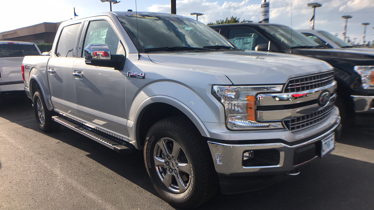 2018 F-150 SuperCrew Cab 4x4, Pickup #JKD58151 - photo 1