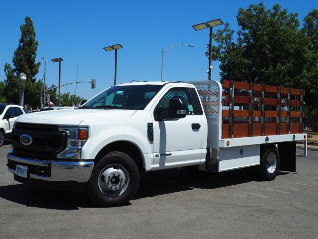 2020 Ford F-350 Regular Cab DRW 4x2, Scelzi Stake Bed #LEC54759 - photo 1