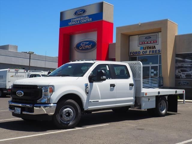 2020 Ford F-350 Crew Cab DRW 4x2, Scelzi Platform Body #LEC57325 - photo 1