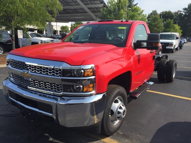 2019 Silverado 3500 Regular Cab DRW 4x4,  Cab Chassis #123353 - photo 1